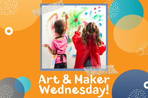 Art & Maker Wednesday: At Home Makerspace | Children's Museum of Atlanta