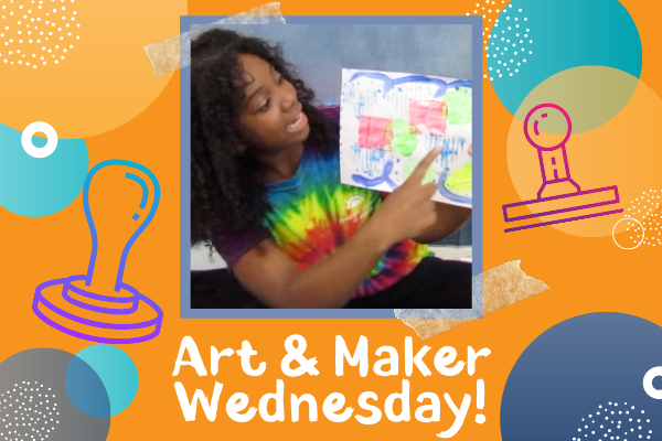 Art & Maker Wednesdays: DIY Stamps | Children's Museum of Atlanta