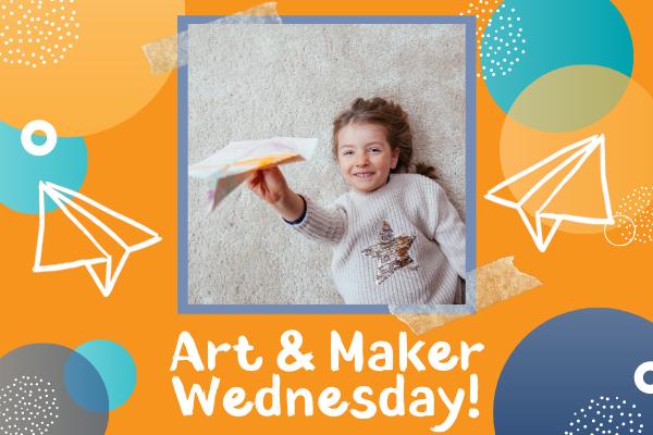 Art & Maker Wednesdays: Design Challenge - Paper Airplanes | CMA