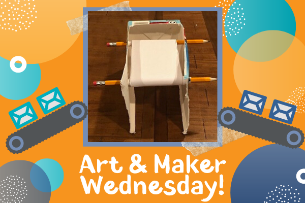 Art & Maker Wednesday: Carton Conveyor Belt | Children's Museum ATL