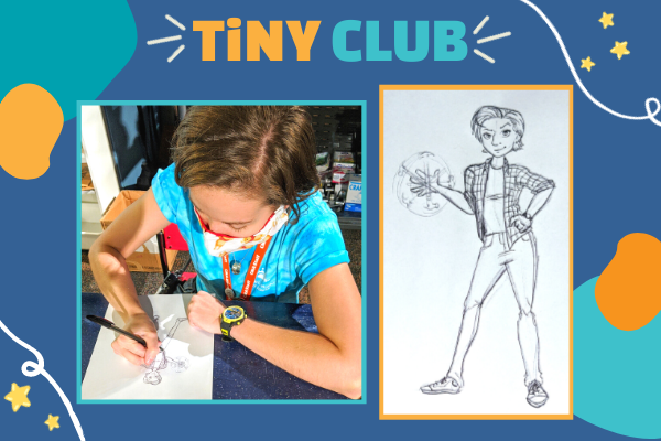 TiNY CLUB: Self-Love Self-Portrait | Children's Museum of Atlanta
